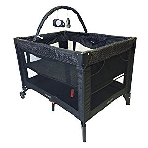 Cosco 05069CDFL Funsport Deluxe Playard - Black Arrow