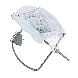 Fisher-Price Newborn Auto Rock 'N Play Sleeper, Waterscape