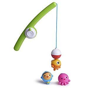 Munchkin 17040 Fishin' Bath Toy, Multi
