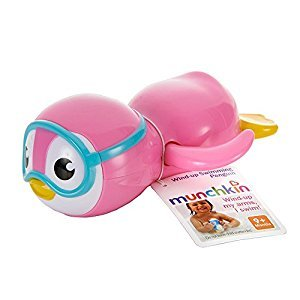 Munchkin 44925 Wind up Swimming Penguin -  Assorted Color (1 Piece)