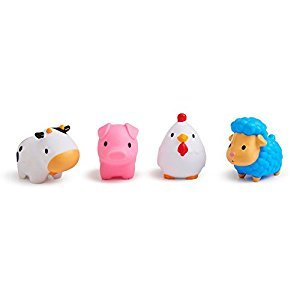 Munchkin Squirtin' Barn Buddies Bath Toy