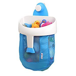 Munchkin Super Scoop Bath Toy Organizer, Blue
