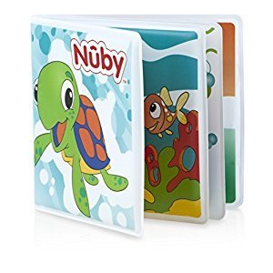 Nuby Baby's Bath Book PDQ, Multi