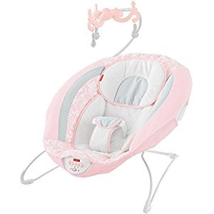 Fisher-Price Pearl Chandelier Deluxe Bouncer, Pink