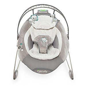 Ingenuity SmartBounce Automatic Bouncer-Orson, Grey