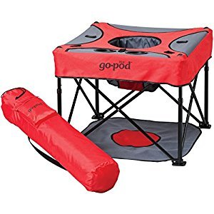 KidCO - GoPod, Portable Baby Activity Station - Cardinal