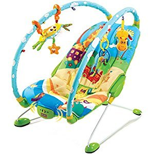 Tiny Love 501-003  Gymini Bouncer (Blue/Yellow)