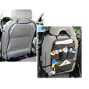Jolly Jumper Car Caddy and Auto Seatback Protector with Bonus Dainty Baby Reusable Bag by Jolly Jumper