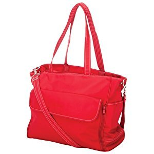 Jolly Jumper Manhattan Diaper Tote Bag - Red