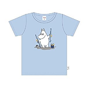 Moomin Children's Boys/Girls T-Shirt - 100% Cotton - by Moomin Characters TM (Finland) (122 - 7-8 Years Old)
