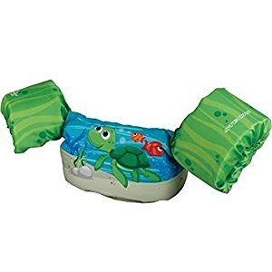 Stearns Kids Puddle Jumper Deluxe Life Jacket,30-50 lbs.,Turtle Color: Turtle Size: 30-50 lbs. Model: by Toys & Child