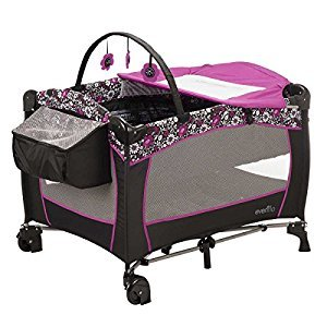 Evenflo Portable BabySuite Deluxe Playard (Daphne)