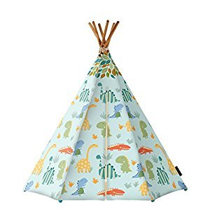 KAMP AROUND THE CRIB SE003 Park Tent with LED & MAT, Blue/Multicolor