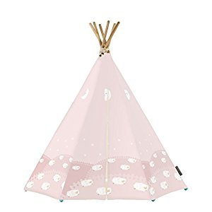 KAMP AROUND THE CRIB SE005 Dream Tent with LED & MAT, Pink