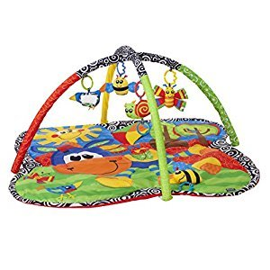 Playgro Activity Gym Clip Clop, Green, Orange, Yellow, Red