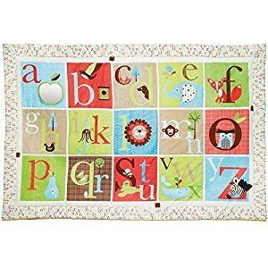 Skip Hop Alphabet Zoo Mega Play Mat, Multi, 3-Pack