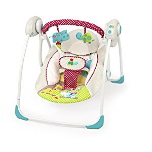 Bright Starts Portable Swing, Polka Dot Parade