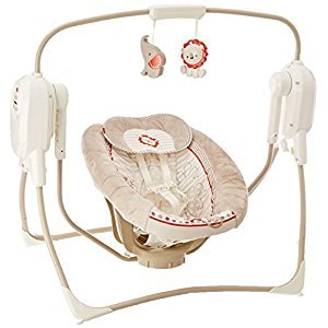 Fisher-Price Spacesaver Cradle N Swing