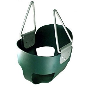 Swing Baby Toddler S-26R Full Bucket Seat Swing (no Rope or Chain), GREEN