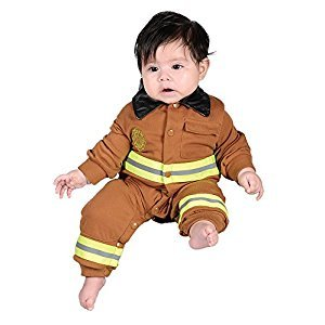 Aeromax FFT-ROMP Junior Firefighter Suit, Size 6-12 Months, Tan