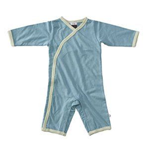 Babysoy Kimono One Piece, Ocean, 0-3 months, 1-Pack