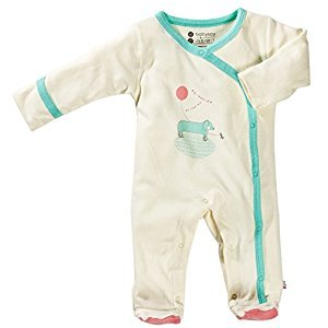 Babysoy O Soy Footie, Dog, 3-6 months, 1-Pack