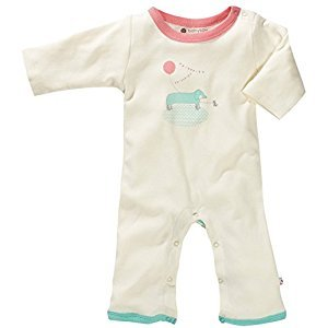 Babysoy O Soy One Piece, Dog, 6-12 months, 1-Pack