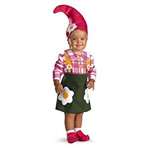 Disguise 177519 Flower Garden Gnome Infant-Toddler Costume
