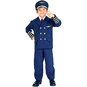 Forum Novelties Airline Pilot Costume, Toddler