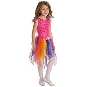 Little Adventures Rainbow Fairy Halloween Dress Up Costume 6-8