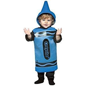 Rasta Imposta Crayola Toddler Costume, Blue, 18-24 Months