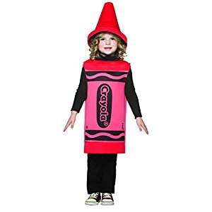 Rasta Imposta Crayola Toddler Costume, Red, 3-4T