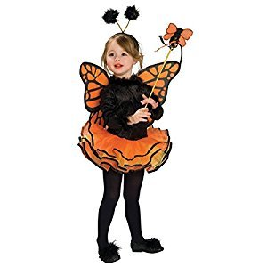 Rubies Costume Co (Canada) Child's Costume, Orange Butterfly Costume
