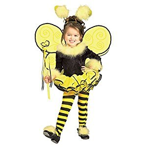Rubies Costume Co (Canada) Rubie's Child's Costume, Bumblebee Tutu Costume-Toddler