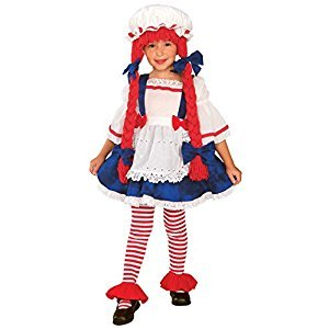 Rubies Costume Co (Canada) Yarn Babies Girl Ragdoll Costume, Toddler
