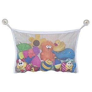 Jolly Jumper Bath Tub Toy Bag, White
