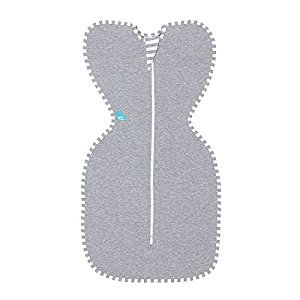 Love to Dream Love to Swaddle UP Original Swaddle 3-6kg, Grey, Small