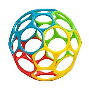 Oball Classic Bendable Ball Toy, Multi