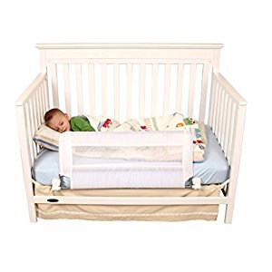 Regalo Swing Down Crib Rail, White
