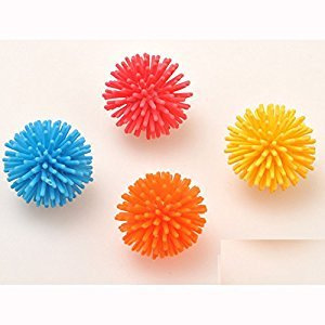 Baby Small Sensory Balls Asoorted Color Gym Play Developmental Toy for All Ages Pack of 6