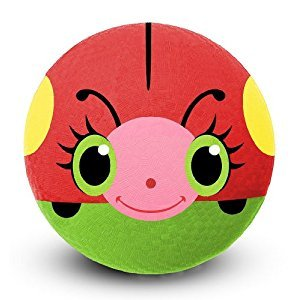 Melissa & Doug Sunny Patch Bollie Ladybug Classic Rubber Kickball