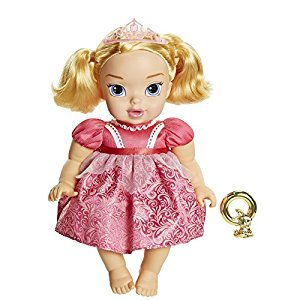 DISNEY PRINCESS 95223 Deluxe Baby Aurora Doll