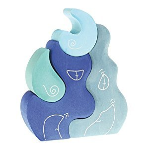 Grimm's Casa Luna Fantasy Building Blocks, Blue
