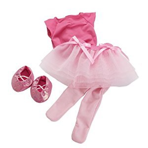 Manhattan Toy Baby Stella Tiptoe Ballet Tutu Baby Doll Clothing