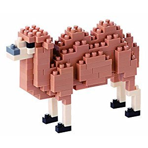 Nanoblock Bactrian Camel Model Kit