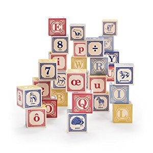 Uncle Goose French ABC Blocks - Made in USA