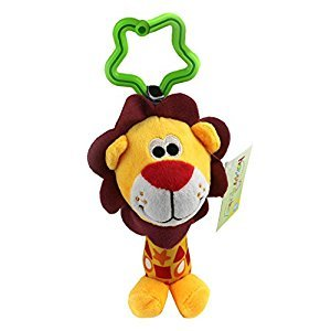 Cute Tinkle Baby Hanging Rattles Puppet Handbells Stroller Toys Lion