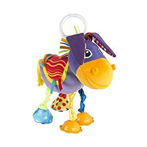 Lamaze Clip and Go Squeezy Donkey