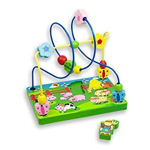 Andreu Toys 21.6 x 14.6 x 22.5 cm Farmer Wire Labyrinth (Medium, Multi-Colour) by Andreu Toys