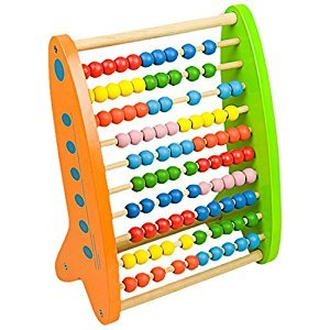 Andreu Toys 24 x 14 x 30.5 cm Abacus Colorines (Multi-Colour) by Andreu Toys